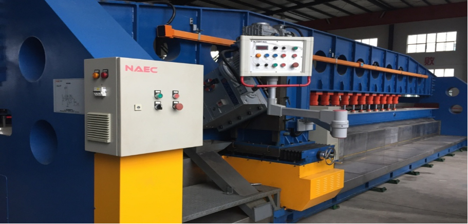 Efficient double-head double-sided milling machine